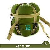 Tooge Sleeping Bag by, Mummy/Envelope Sleeping Bag Portable Compact Lightweight Waterproof Sleeping Bag for Adult, Women, Men, Backpacking, Camping, Hiking, Travel, Outdoor, Indoor
