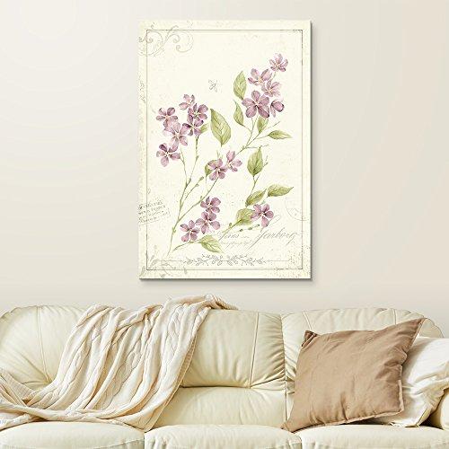 Vintage Style Small Purple Flowers