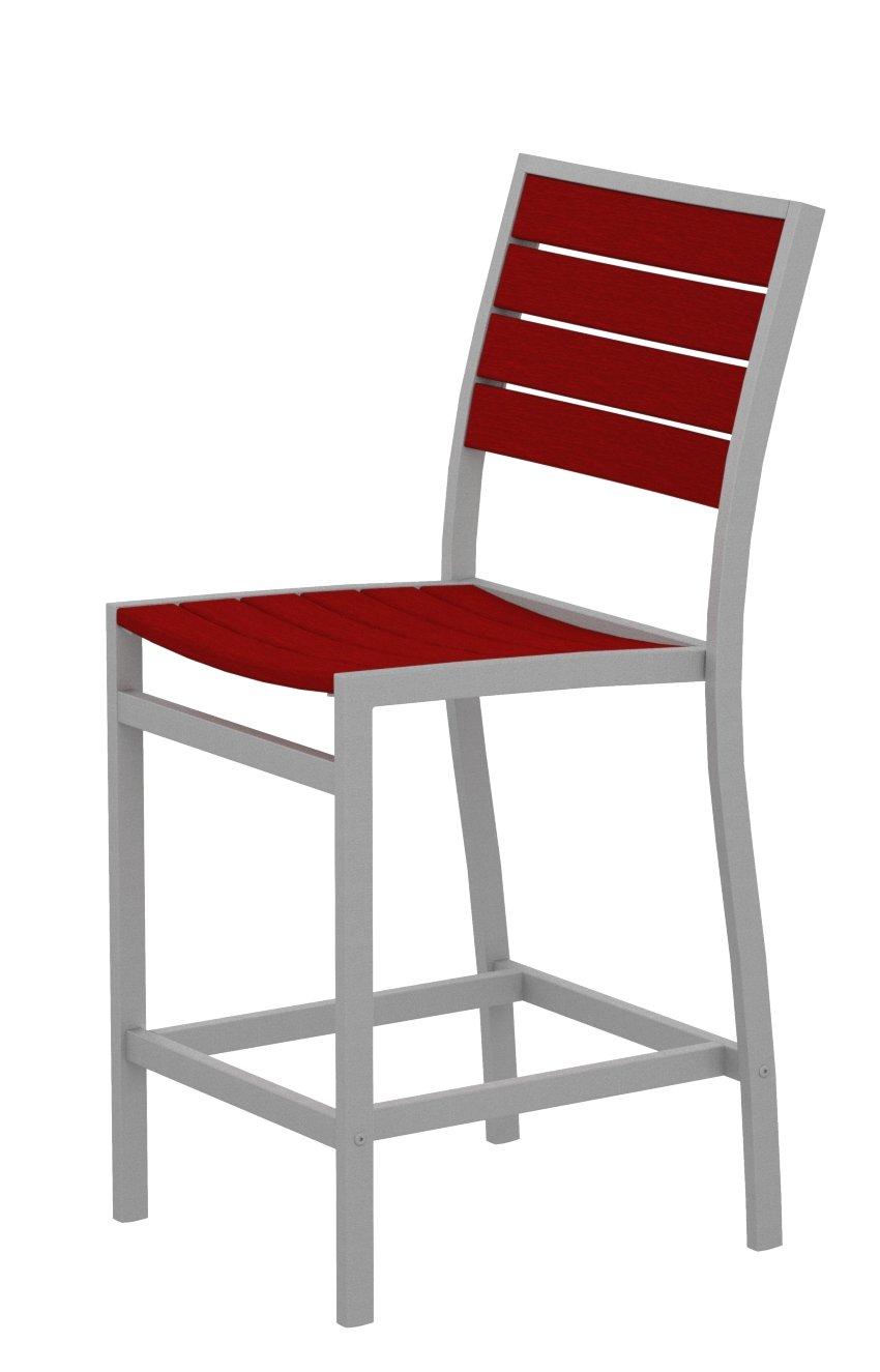 Amazon.com: polywood a101fassr Euro contador Side silla, con ...