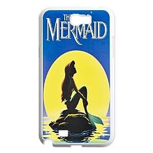 Samsung Galaxy Note 2 N7100 Phone Case The Little Mermaid O8T90340