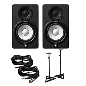 yamaha hs5 pair. Yamaha HS5 Active Monitors (Pair) With TRS XLR-Male Cables And Speaker Stands Hs5 Pair .