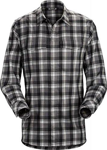 Arc'teryx  Men's Gryson Long Sleeve Shirt Pilot Black Large