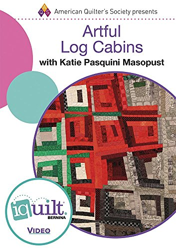 DVD - Artful Log Cabins - Complete Iquilt Class