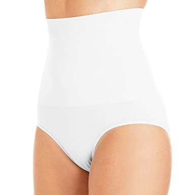 8d9651bdf Womens Shapewear Seamfree High Waist Slimming Control Briefs Tummy Tuck Bum  Lift From Undercover  Amazon.co.uk  Clothing
