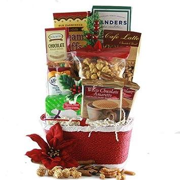 Best Christmas Gift Baskets.Amazon Com Seasons Best Christmas Gift Basket Gourmet