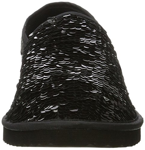Flop Flip 0110 Black black Espadrilles Flippadrillasequins Women Silver 1wvdqwa