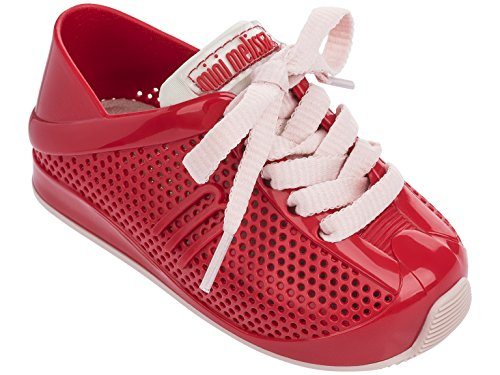 Mini Melissa Kids' Mini Love System Sneaker,Red,8 Regular US Toddler by Mini Melissa