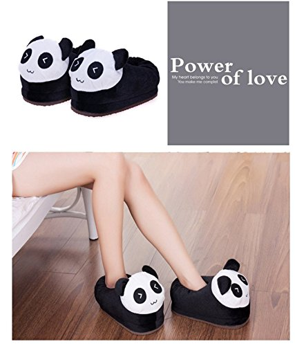 Cartoon Plush Slipers Warm Winter Soft Slippers Panda Shoes Cute nvHCBXO