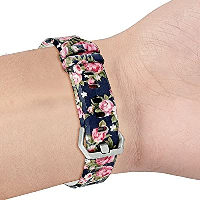 "RedTaro Bands for Fitbit Alta and Fitbit Alta HR,Fashion Print Designs,Standard Size for 5.5""-8.1""wrists"