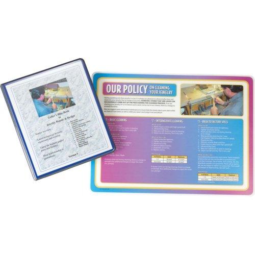 Gellars Blue Book Of Jewelry Repairs by US Gift