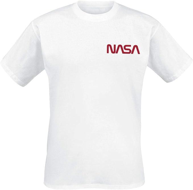 Nasa Space Camp Camiseta Blanco, Regular: Amazon.es: Ropa y accesorios