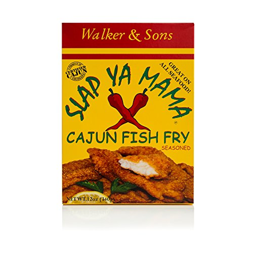 Slap Ya Mama Cajun Fish Fry, 12-Ounce Boxes (Pack of 6) by SLAP YA MAMA (Image #2)