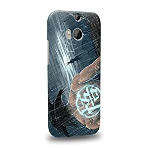 Case88 Premium Designs Dragon Ball Z GT AF Son Goku Son Goku VS Protective Snap-on Hard Back Case Cover for HTC One M8 by icecream design