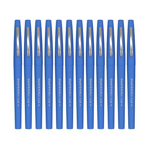 Paper Mate Flair Felt Tip Pens, Medium Point 0.7mm, Limited Edition Candy Pop, Blueberry Bubblegum Ink, Pack of (Felt Candy)