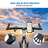 Bike Phone Mount, VUP Silicone Phone Stand for