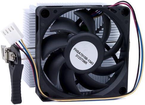 Lot of 50 AMD Aluminium Fan for Socket FM2//FM1//AM3+//AM2 up to 65W Processor
