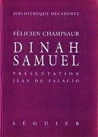 Dinah Samuel par Félicien Champsaur