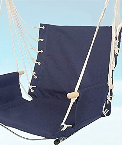 NUMBERNINE, cradle Portable Camping Swinging hanging chair Hammock artifact dedicated all-ages outdoor house Leisure Travel,Travel Hammock Chair (Blue - Zebra Parts Screw
