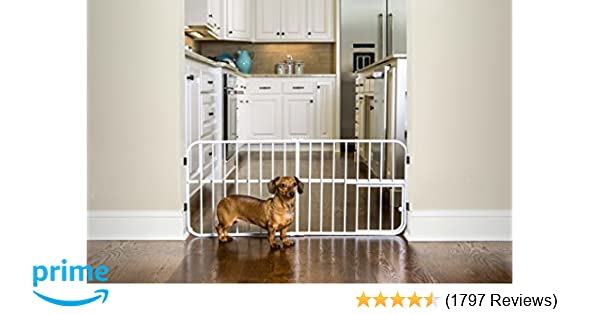 Amazoncom Carlson Lil Tuffy Metal Expandable Gate Pet Supplies