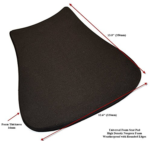 - Universal Racing Motorcycle Seat Pad for Race Track Use 16mm High Density Foam (4)