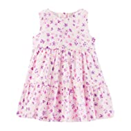 [Sponsored]Baby Girls' 2 Piece Tiered Ruffle Floral Dress