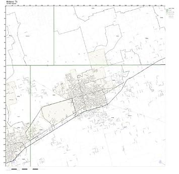 midland tx zip code map