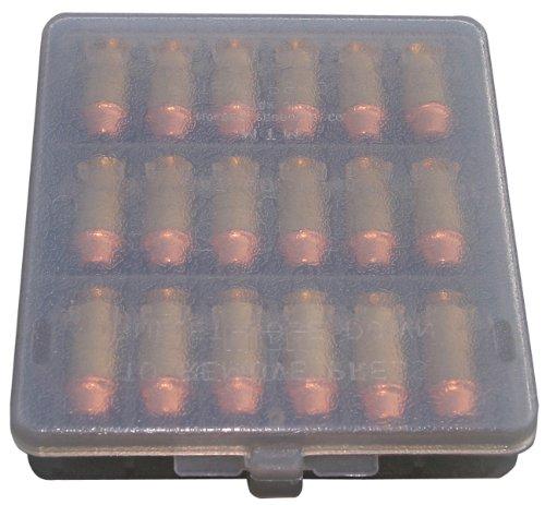 MTM 18-Round Case-Gard Ammo Wallet (Clear Smoke)
