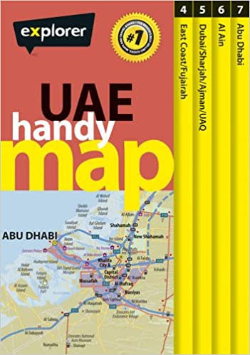 UAE Handy Map: 1: Explorer Publishing and Distribution