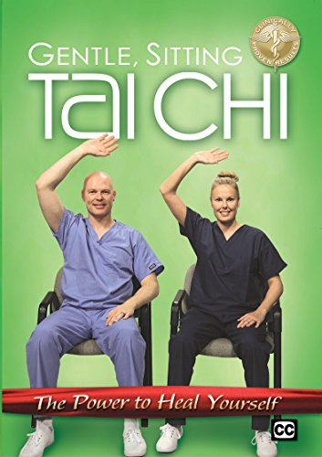 Healing Exercise Sitting Tai Chi DVD - Basic Tai Chi Exercises To Rejuvenate, Energize and De-Stress; for Beginners, Seniors, And Those With Arthritis, Joint Pain, Back Pain and More (Chair Yoga For Seniors Dvd)