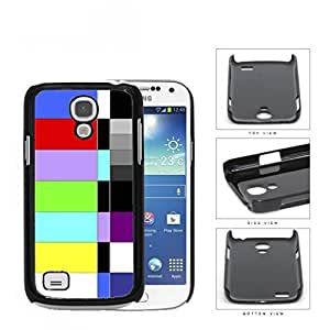 Retro TV Test Pattern Color Bars Hard Plastic Snap On Cell Phone Case Samsung Galaxy S4 SIV Mini I9190