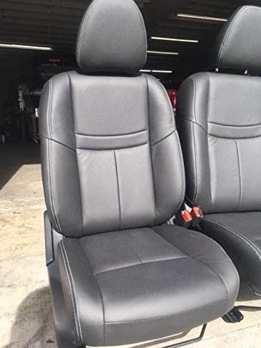 Nissan Rogue SV/S 2 Row, 2014 2018 OE Factory Replacement Leather Interior