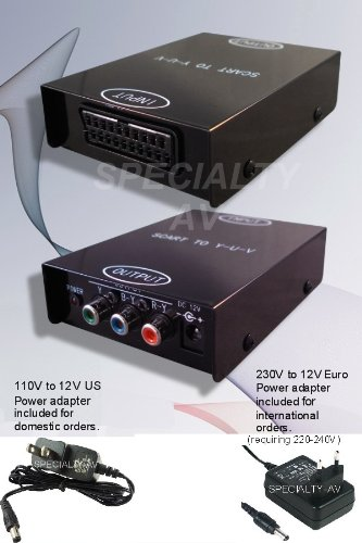 Yuv Component - SPECIALTY-AV SCART to Component Video Converter for Sega, Genesis, Atari