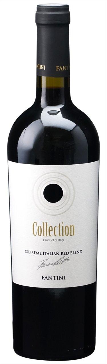 【イタリアアブルッツォ】 Fantini Collection Vino Fantini Rosso Vino Collection 6本ケース販売(I811-6) B075F6V949, おむつケーキの店ベビーアニヴェル:64b00710 --- yogabeach.store