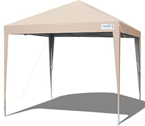 Quictent 10×10 Ez Pop up Canopy Tent Portable Outdoor Instant Canopy Shelter Waterproof