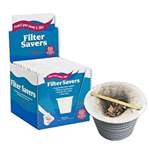 Swim Safe Filter Saver 5 Packs Socks To Keep Filters Clean Skimmer Baskets