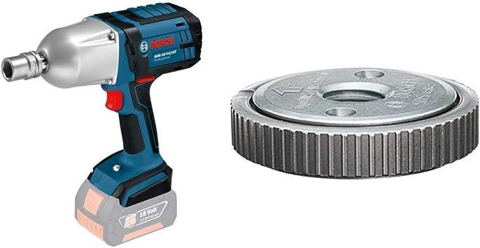 Bosch GDS 18 V-LI HT - Impact wrenches (Ión de litio, 18V, 3 kg) + Bosch Home and Garden 1 603 340 031 Bosch 031-Tuerca de sujeción rápida-(Pack de 1), Plata: Amazon.es: Bricolaje y herramientas
