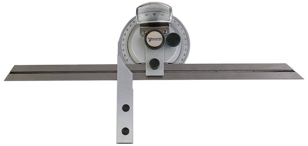 YuzukiTM Universal Bevel Protractor with Fine Adjustment