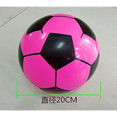 BUYDEAL Inflatable Soccer Balls Sports Birthday Parties Inflatable Favors Decor,10pcs,Assorted: Toys & Games