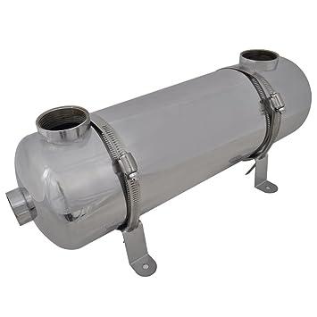 Festnight Calentador de Calor para Piscina - 60 Kw, 485 x 134 mm