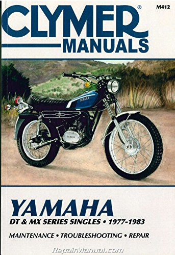 M412 1977 - 1983 Yamaha DT 100 125 175 250 400 MX100 for sale  Delivered anywhere in USA