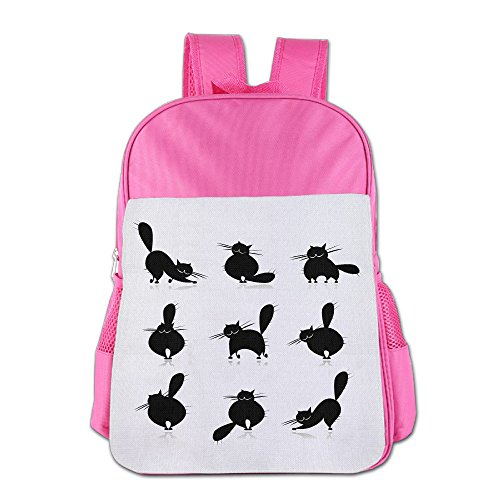 XianNonG The Morphology Of The Cat Boys And Girls Large Capacity School Bags - Glasses Robert Redford