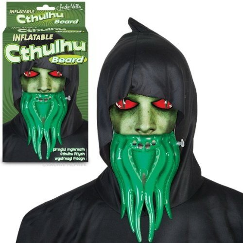 (Inflatable Cthulhu Beard! by Accoutrements)