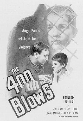 The 400 Blows - Movie Poster / Print Francois Truffaut