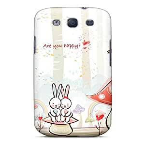 MfHmKzq586cyTvM Tpu Phone Case With Fashionable Look For Galaxy S3 - Are You Happy