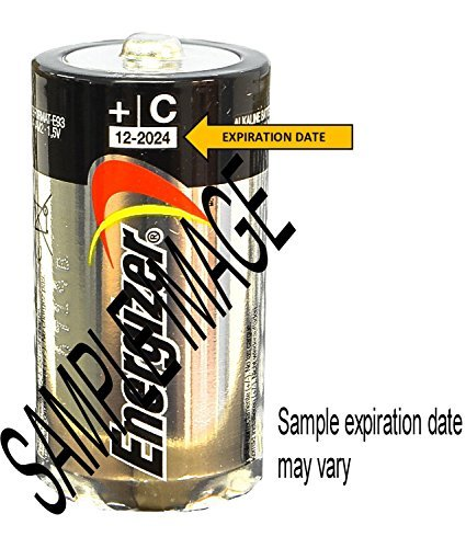 ENERGIZER E93 Max ALKALINE C BATTERY Made in USA Exp. 12-2024 or later - 48 Count