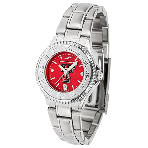 New Linkswalker Texas Tech Red Raiders Ladies' Competitor Steel Anochrome Watch