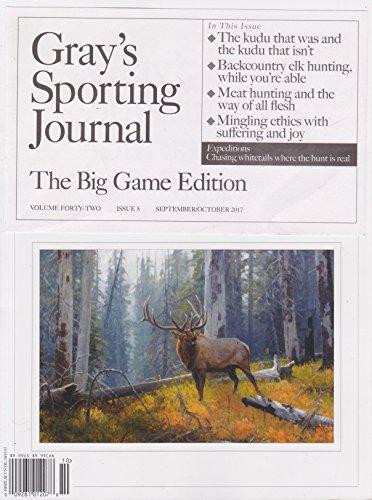 Gray's Sporting Journal Magazine September/October 2017