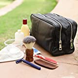 Genuine Leather Travel Toiletry Bag - Dopp Kit