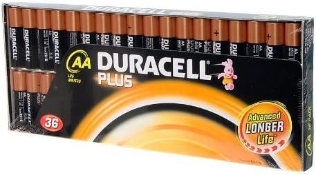 Duracell Plus Aa 1 5 V Lr6 Mn1500 36 Spielzeug