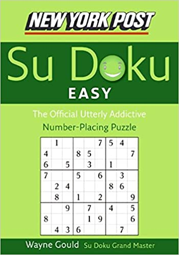 New York Post Easy Su Doku: The Official Utterly Addictive Number-Placing Puzzle (New York Post Su Doku)